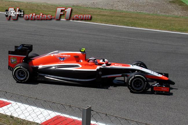Max Chilton - Marussia - 2014