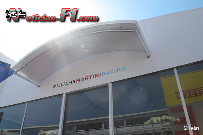 Motorhome Williams - Logo - F1 2014 - www.noticias-f1.com
