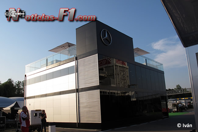 Motorhome - Mercedes AMG - F1 2014 - www.noticias-f1.com