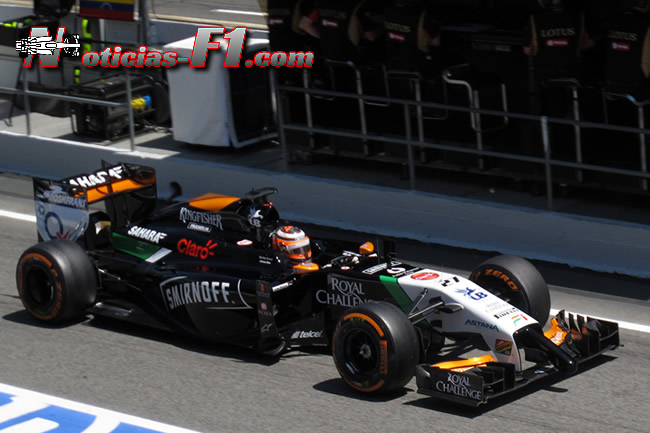 Nico Hulkenberg - 2 - Force India - F1 2014 - www.noticias-f1.com