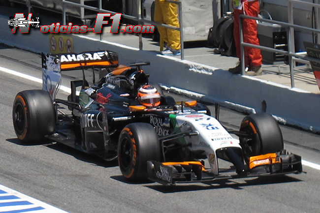 Nico Hulkenberg - Force India - F1 - 2014 - www.noticias-f1.com