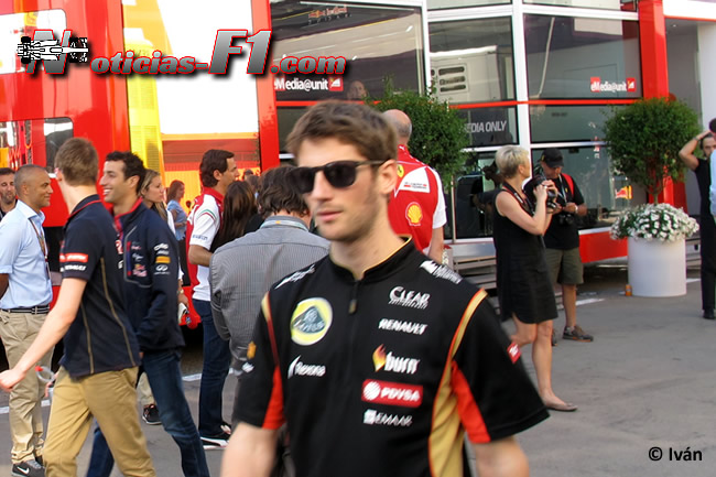 Romain Grosjean - Lotus - F1 2014 - www.noticias-f1.com