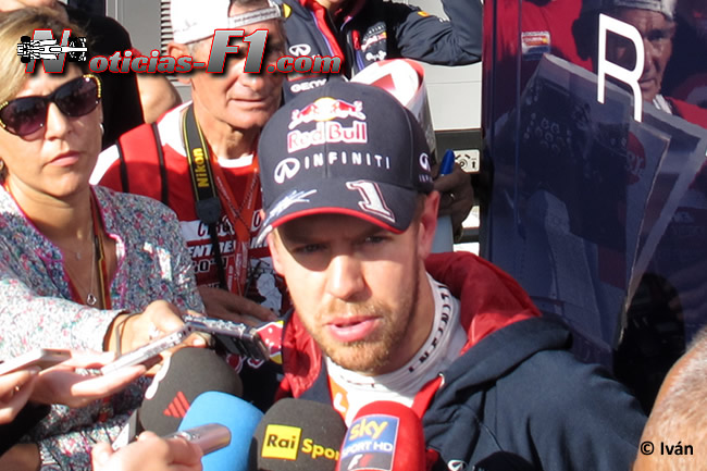 Sebastian Vettel - Red Bull Racing - F1 2014 - www.noticias-f1.com