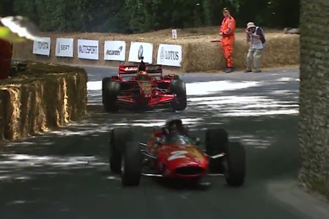 Festival de Velocidad de Goodwood - Scuderia Ferrari - John Surtees - Kimi Raikkonen