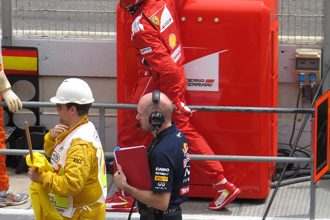 Adrian Newey - Red Bull Racing - Scuderia Ferrari - www.noticias-f1.com