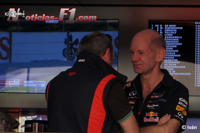 Adrian Newey - Red Bull Racing - F 2014 - www.noticias-f1.com