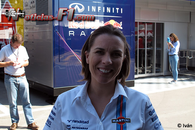 Claire Williams - www.noticias-f1.com