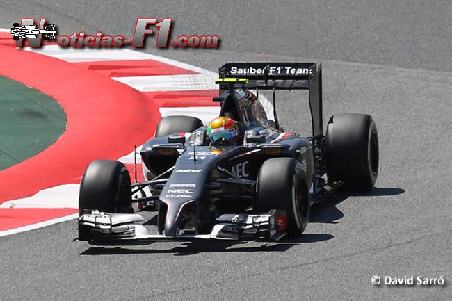 Esteban Gutiérrez - Sauber - F1 2014 - www.noticias-f1.com