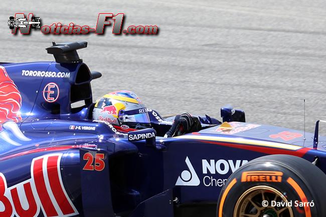 Jean- Eric Vergne - Toro Rosso - F1 2014 - www.noticias-f1.com - David Sarró
