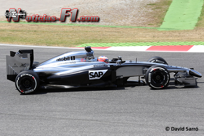 Jenson Button - McLaren - F1 2014 - www.noticias-f1.com - David Sarró