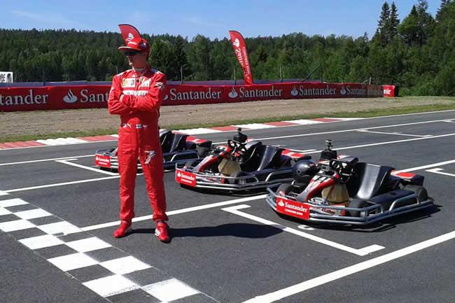 Kimi Raikkonen - Scuderia Ferrari - 2014 - Kart