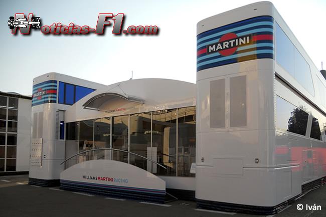 Motorhome - Williams - F1 2014 - www.noticias-f1.com
