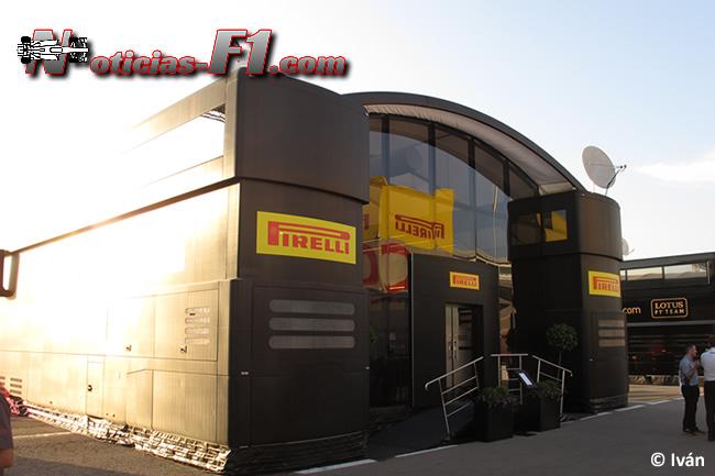 Motorhome Pirelli - F1 2014 - www.noticias-f1.com