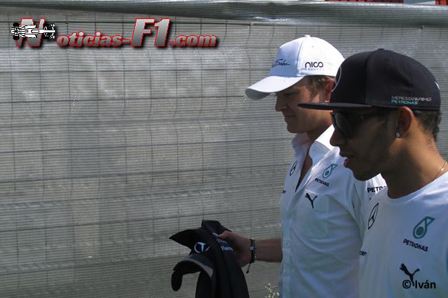 Nico Rosberg - Lewis Hamilton - Mercedes AMG - F1 2014 - www.noticias-f1.com