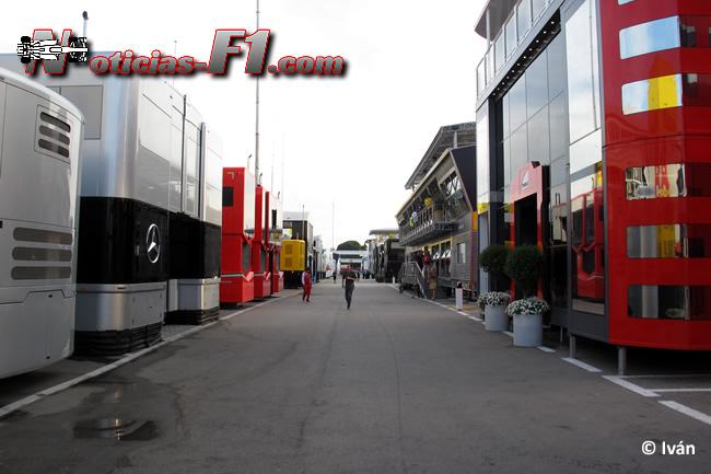 Paddock F1  - www.noticias-f1.com