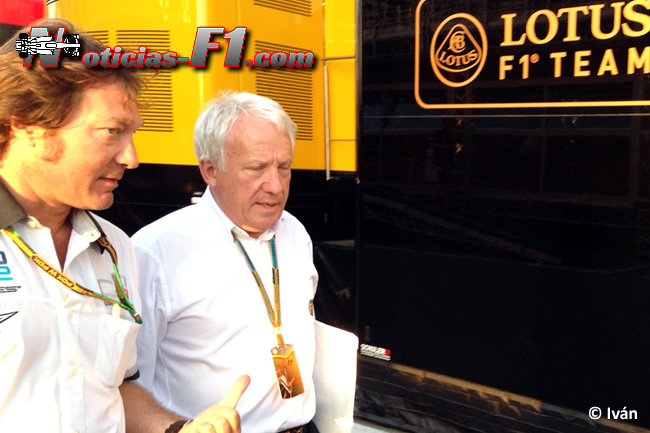 Charlie Whiting - F1