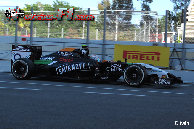 Daniel Juncadella - Force India - F1 2014 - www.noticias-f1.com