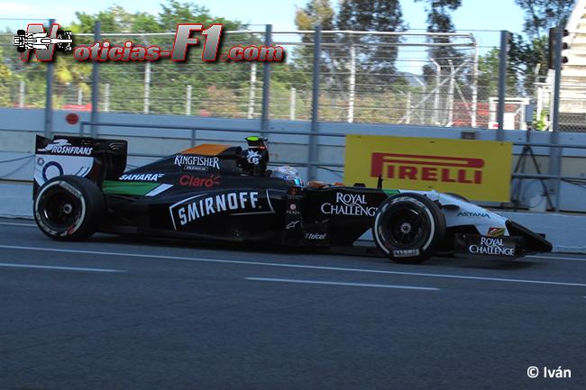 Daniel Juncadella - Force India - F1 2014 - www.noticias-f1.com