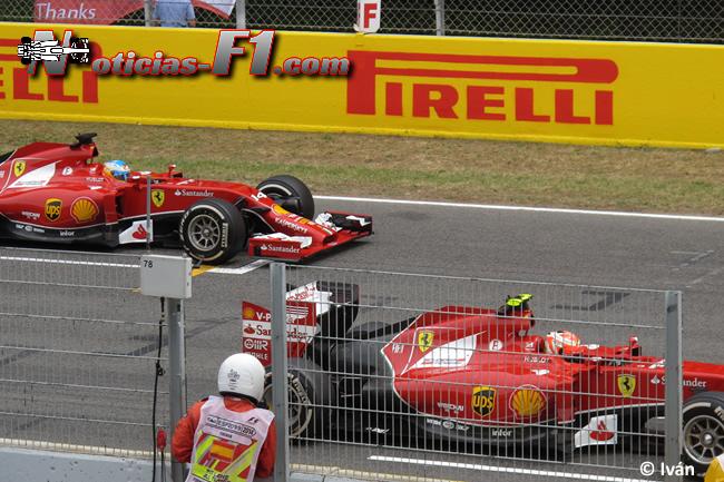 Fernando Alonso - Kimi Raikkonen - Scuderia Ferrari - 2014 - www.noticias-f1.com