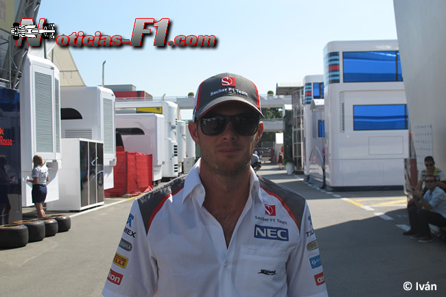 Giedo van der Garde - Sauber - F1 2014 -www.noticias-f1.com