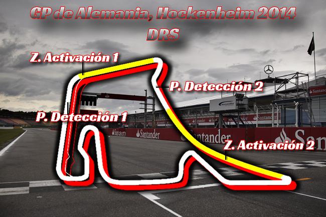 Gran Premio de Alemania - Hockenheim - 2014 - DRS - F1