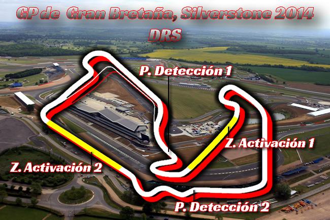 Gran Premio de Gran Bretaña - F1 2014 - DRS