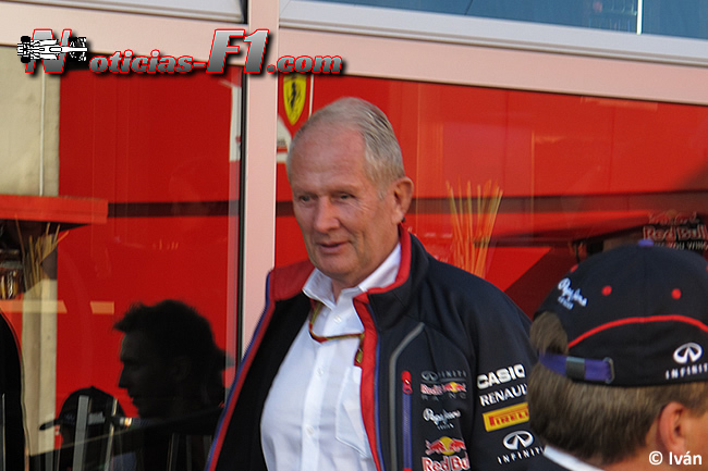 Helmut Marko - Red Bull Racing - F1 - www.noticias-f1.com