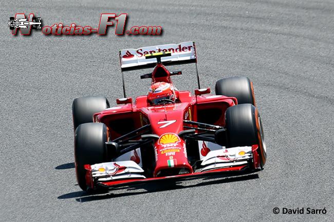 Kimi Raikkonen - Scuderia Ferrari - David Sarró - www.noticias-f1.com