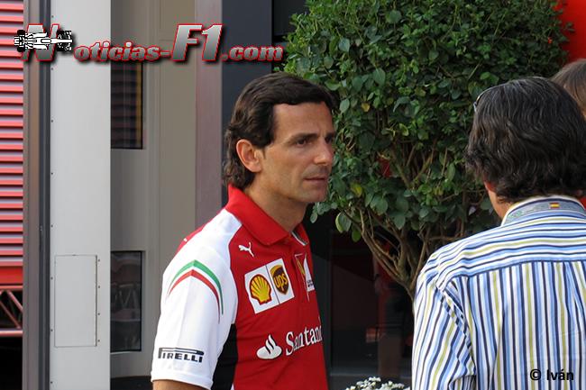 Pedro de la Rosa - Scuderia Ferrari - F1 2014 - www.noticias-f1.com