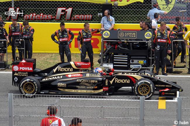 Romain Grosjean - Lotus - F1 2014