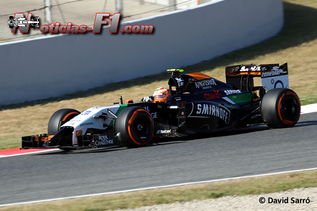 Sergio Pérez - Force India - David Sarró - www.noticias-f1.com