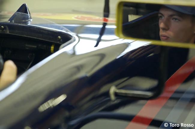 Max Verstappen - Test Toro Rosso - Red Bull - RB7