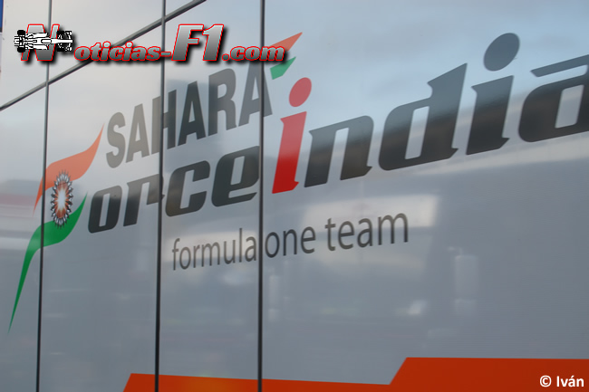 Sahara Force India Logo - www.noticias-f1.com