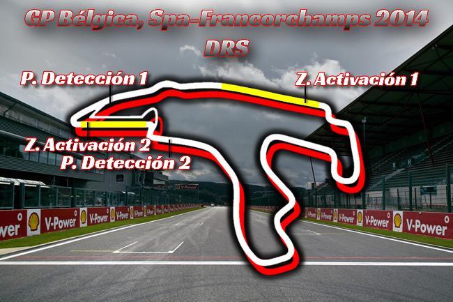 Gran Premio de Bélgica - DRS 2014