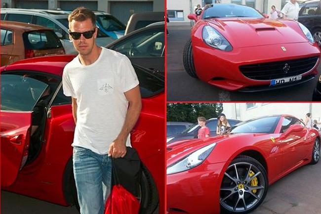 Sebastian Vettel - Ferrari California - Norbert