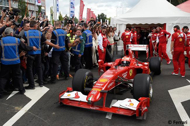 Kimi Raikkonen - Scuderia Ferrari - Evento Rotterdam