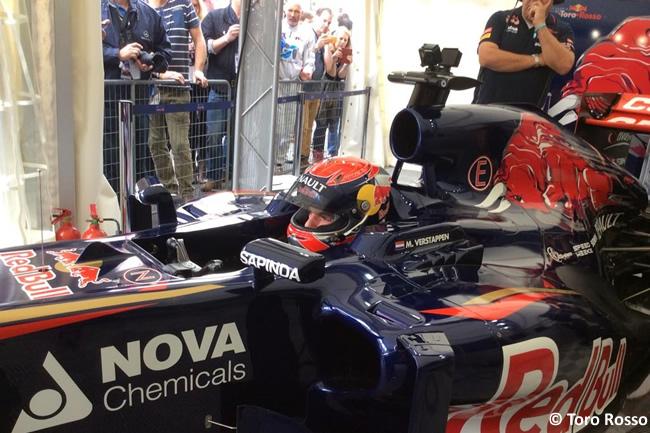 Max Verstappen Evento - Toro Rosso