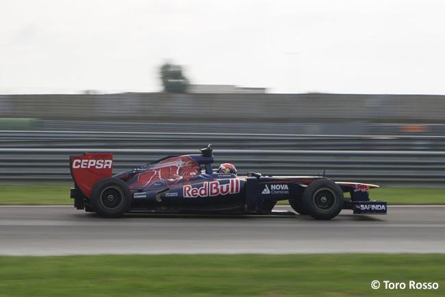 Max Verstappen - Circuito Adria - Test Toro Rosso