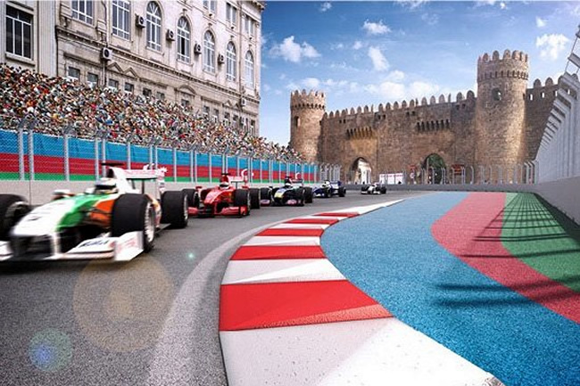 Azerbaiyán Bakú - Concept - Circuito - Gran Premio
