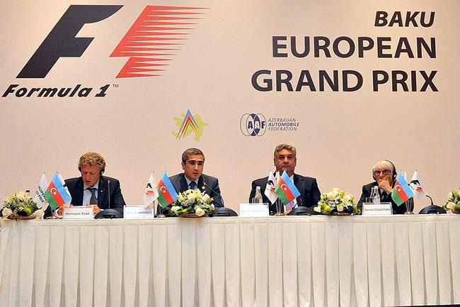 Azerbaiyán Bakú - Rueda de Prensa - Circuito - Gran Premio