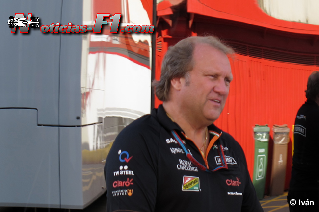 Bob Fernley - Force India