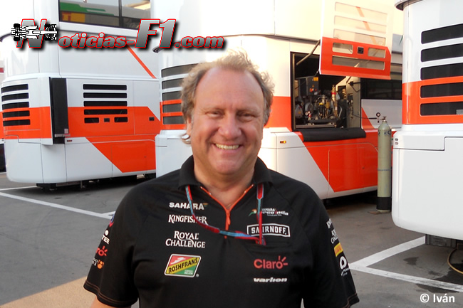 Bob Fernley - Force India - www.noticias-f1.com