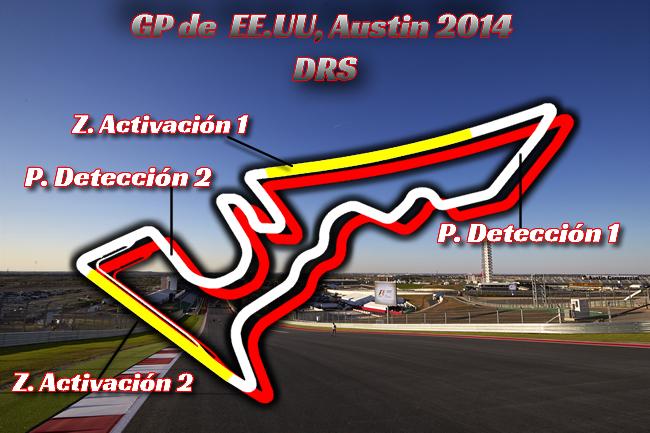 Gran Premio de Estados Unidos - Austin - DRS
