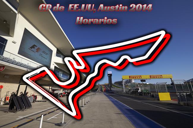 Gran Premio de Estados Unidos - Horarios