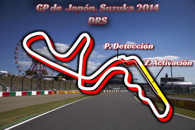 Gran Premio de Japón - F1 2014 - DRS
