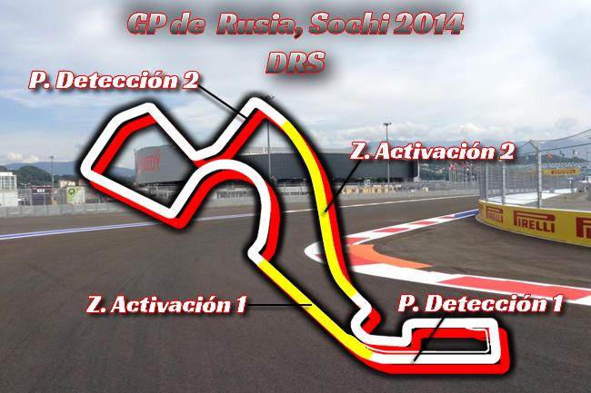 Gran Premio de Rusia - Sochi - F1 2014 - DRS