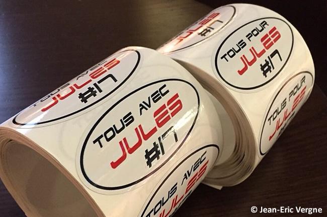 Todos con Jules - Iniciativa Jean-Eric Vergne - Jules Bianchi