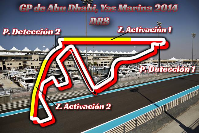 Gran Premio de Abu Dhabi - Yas Marina  - DRS