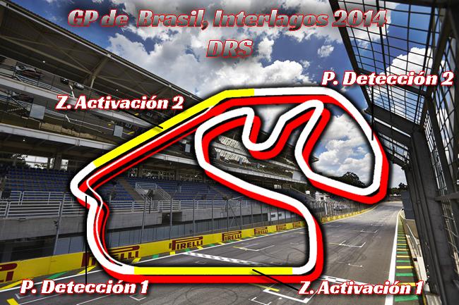 DRS - Gran Premio de Brasil - Interlagos  - 2014