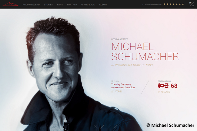 Michael Schumacher - Web Oficial